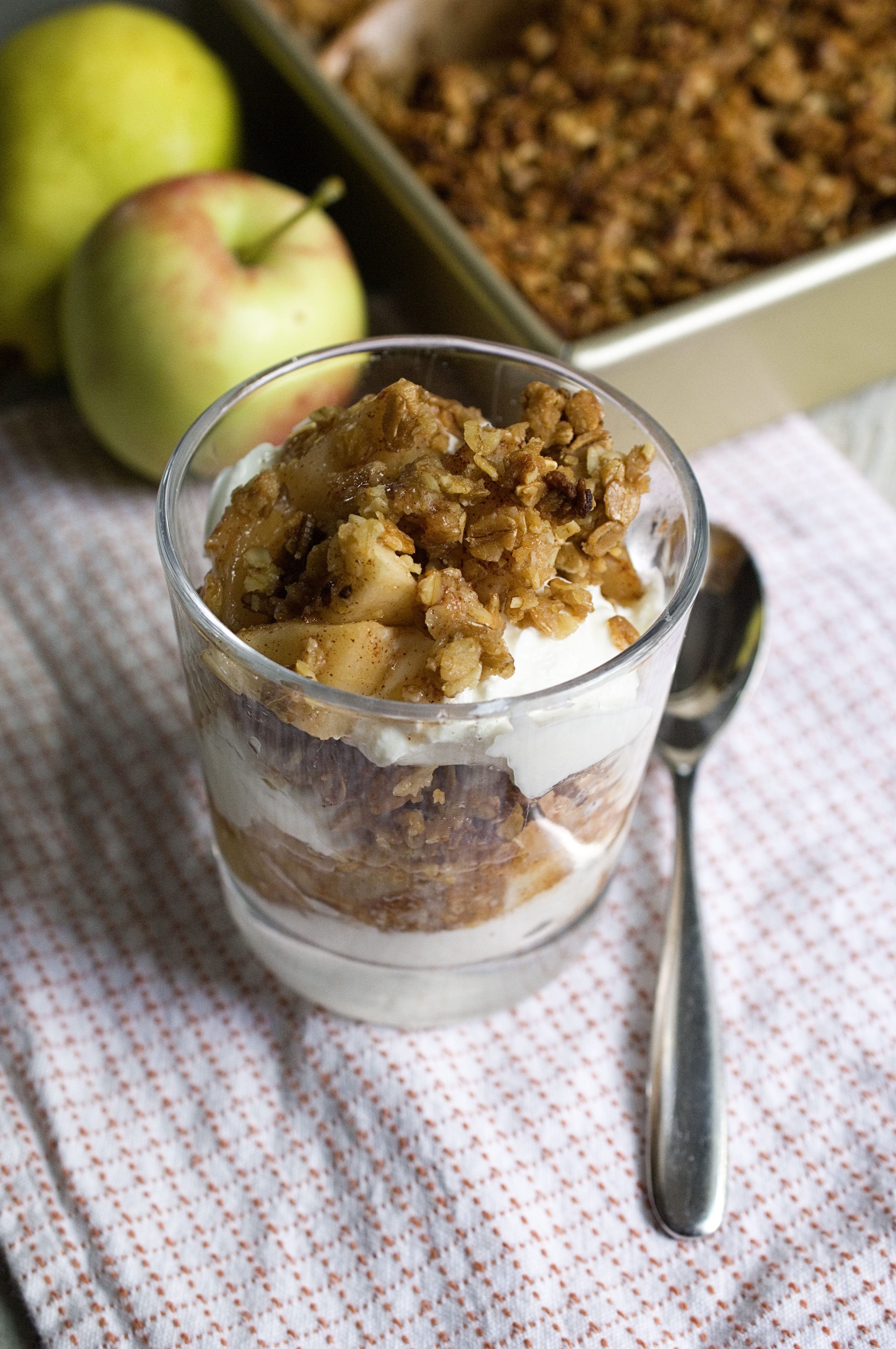 apple crisp apple crisp apple crisp i pear apple breakfast granola ...